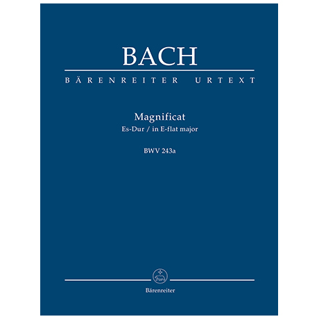 Bach, J. S.: Magnificat Es-Dur BWV 243a