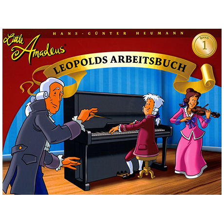 Little Amadeus - Arbeitsbuch Band 1