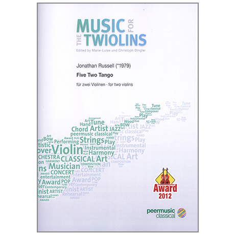 The Twiolins: Russel, J.: Five Two Tango