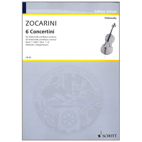 Zocarini, M.: 6 Concertini Band 1 (1-3)