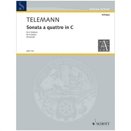 Telemann, G. Ph.: Sonata a quattro C-Dur