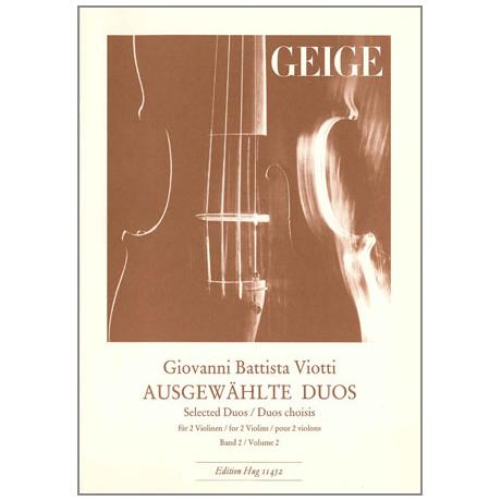 Viotti, G. B.: Ausgewählte Duos Band 2