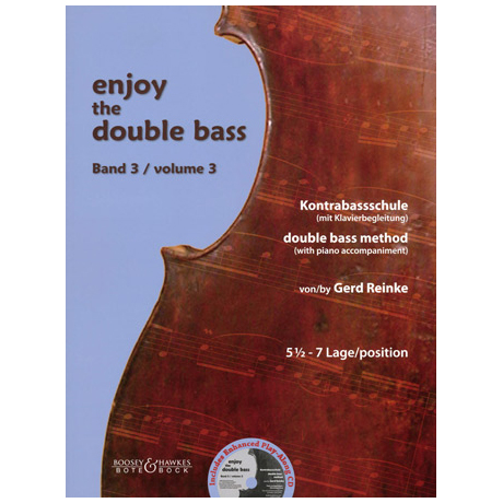 Reinke, G.: Enjoy the double bass Band 3 (+CD)