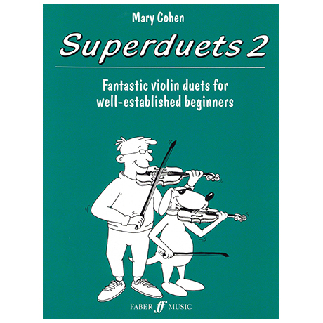 Cohen, M.: Superduets Book 2 – Violin