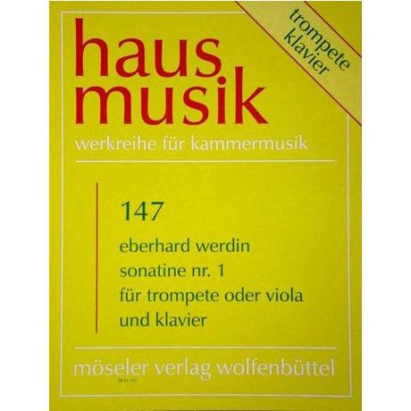 Werdin, E.: Violasonatine Nr. 1