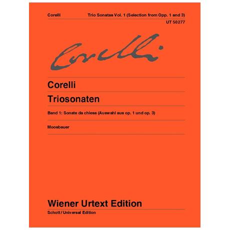 Corelli, A.: Triosonaten Band 1 (Auswahl aus Op. 1 & Op. 3)