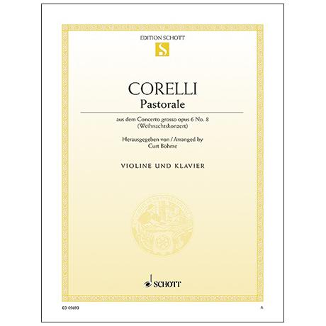 Corelli, A.: Pastorale G-Dur Op. 6/8 (aus dem Weihnachtskonzert)