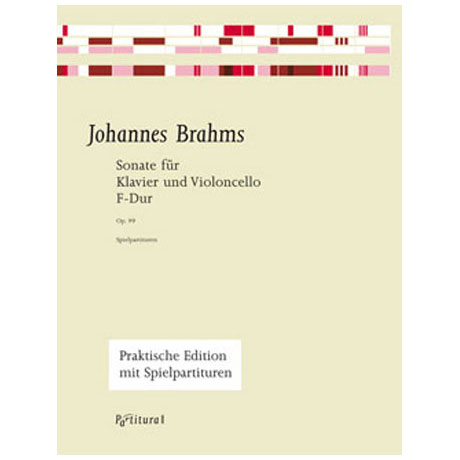 Brahms, J.: Violoncellosonate Op. 99 F-Dur