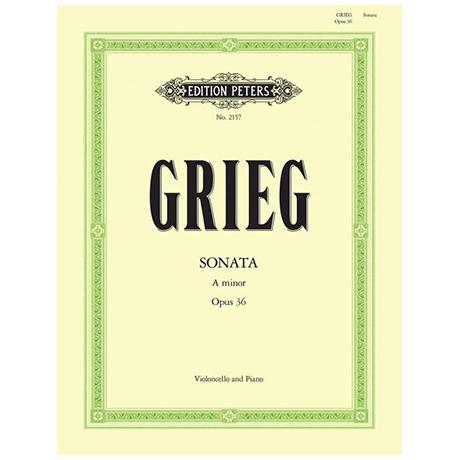 Grieg, E.: Sonate Op. 36 a-Moll