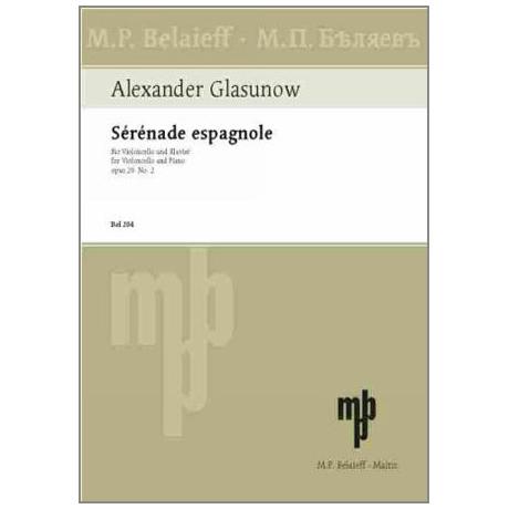 Glasunow, A.: Serenade espagnole Op. 20/2