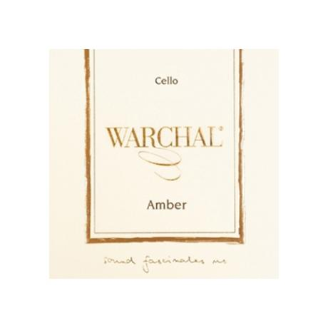 WARCHAL Amber cello strings SET