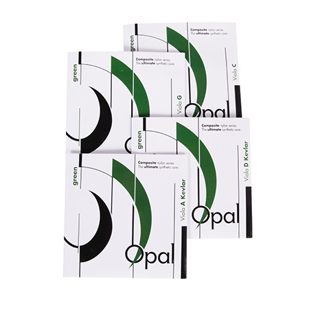 Fortune OPAL Green viola strings SET