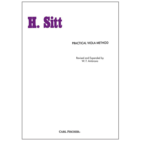 Sitt, H.: Practical Viola Method