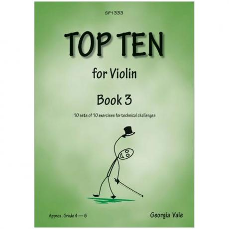 Vale, G.: Top Ten for Violin Book 3