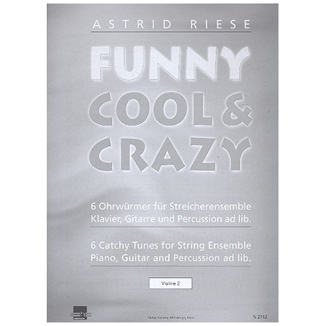 Riese, A.: Funny Cool & Crazy – Violine 2