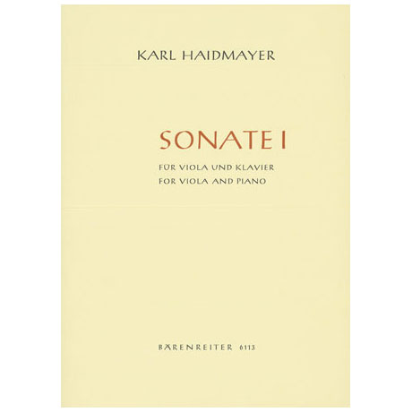 Haidmayer, K.: Violasonate Nr. 1