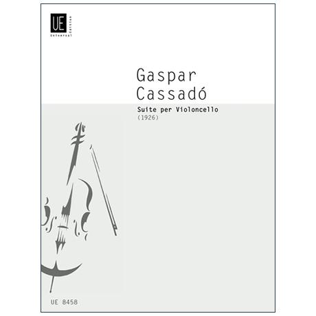 Cassadó, G.: Cello-Suite