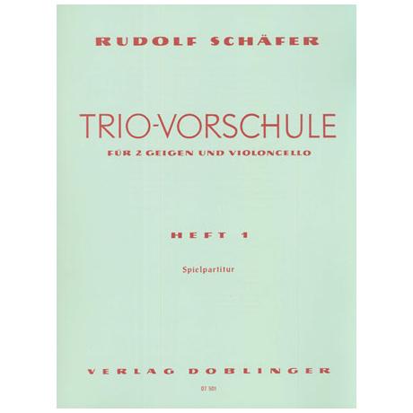 Schäfer, R.: Trio-Vorschule Band 1