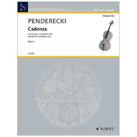 Penderecki, K.: Cadenza