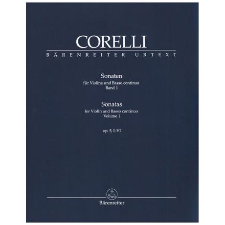 Corelli, A.: Violinsonaten Band 1 Op. 5/1-6