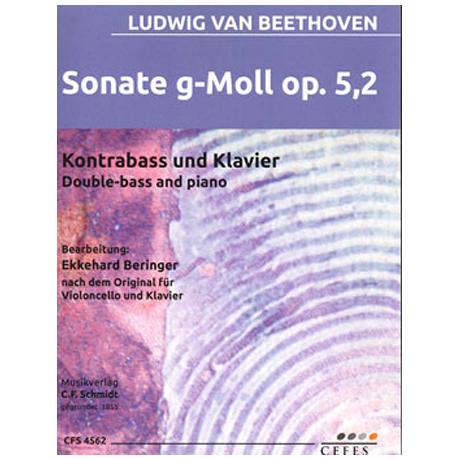 Beethoven, L. v.: Kontrabasssonate Op. 5/2 g-Moll