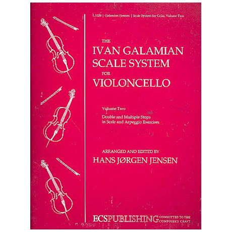Galamian, I.: The Galamian Scale System – Band 2