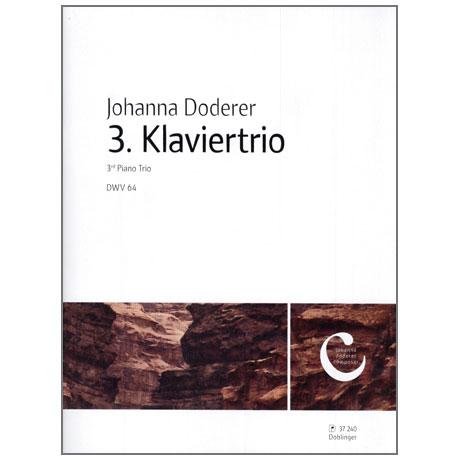 Doderer, J.: Klaviertrio Nr. 3 DWV 64