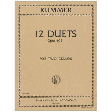 Kummer, F.A.: 12 Duette Op.105