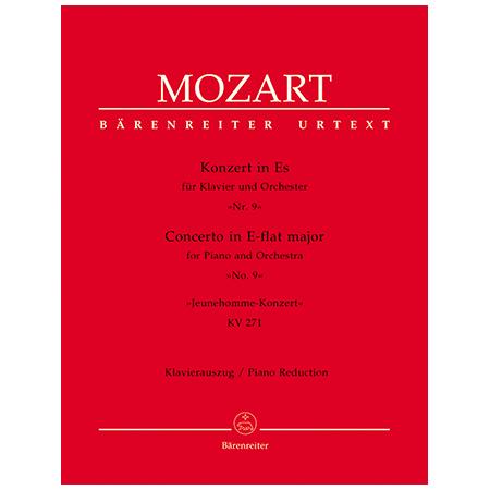 Mozart, W. A.: Klavierkonzert Nr. 9 KV 271 Es-Dur »Jeunehomme«