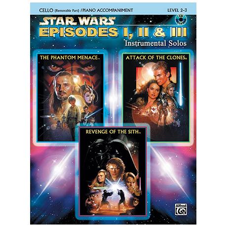 Williams, J.: Star Wars Episodes 1-3 (+CD)