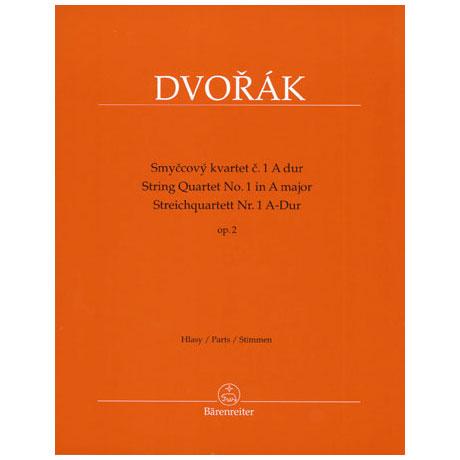 Dvořák, A.: Streichquartett Nr. 1 Op. 2 A-Dur