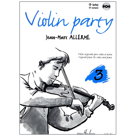 Allerme, J.-M.: Violin Party Band 3 (+CD)