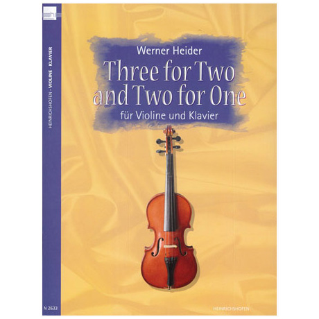 Heider, W.: Three for Two and Two for One