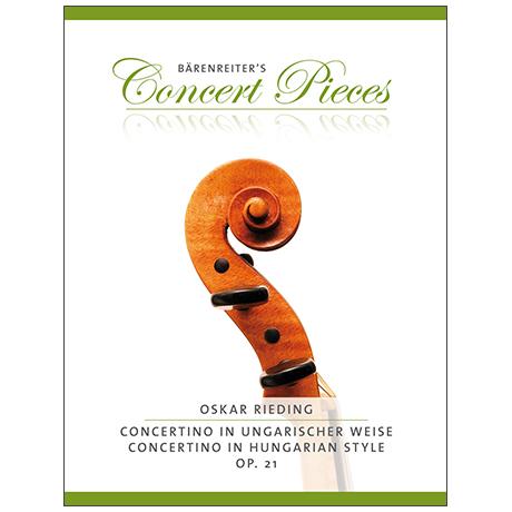 Rieding, O.: Concertino in ungarischer Weise Op. 21