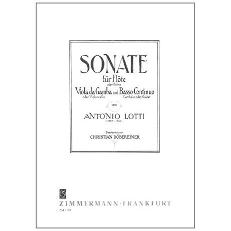 Lotti, A.: Sonate
