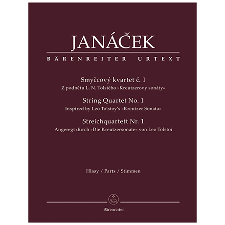 Janáček, L.: Streichquartett Nr. 1 »Kreutzersonate«