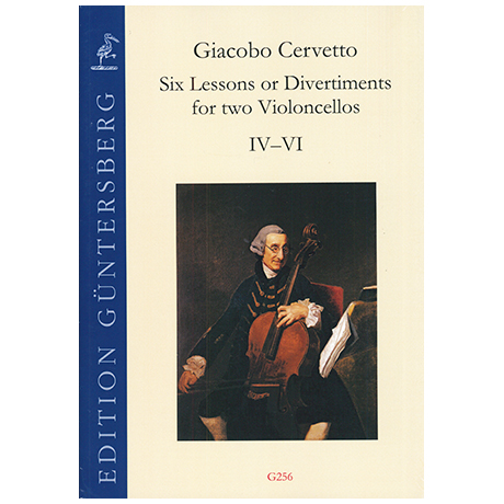 Cervetto, G.: Six Lessons or Divertiments Op.4 Vol.1 IV-VI