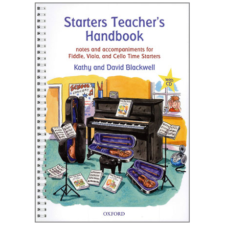 Blackwell, K. & D.: Starters Teacher's Handbook (+CD)