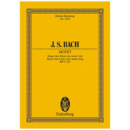 Bach, J. S.: Singet dem Herrn ein neues Lied