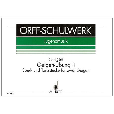Orff, C.: Geigen-Übung Band 2
