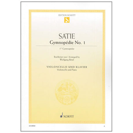 Satie, E.: Gymnopedie Nr.1