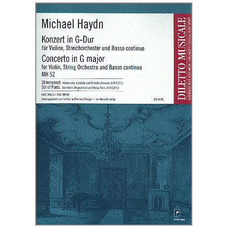 Haydn, M.: Violinkonzert MH 52 G-Dur