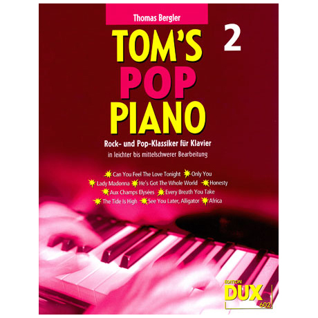 Bergler T.: Tom's Pop Piano 2