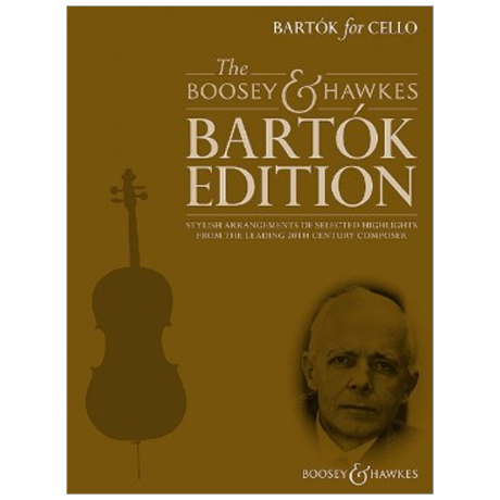 Bartók, B.: Bartók for Cello (+ CD)