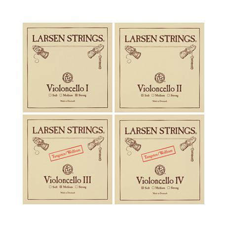 LARSEN cello strings SET