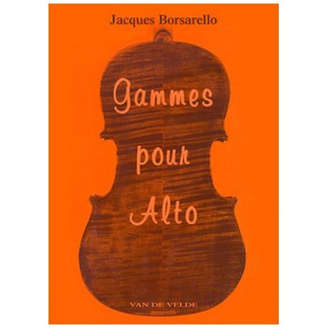 Borsarello, J.: Gammes pour alto