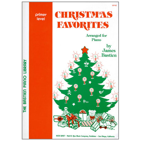 Bastien, J.: Christmas Favorites - Grundstufe