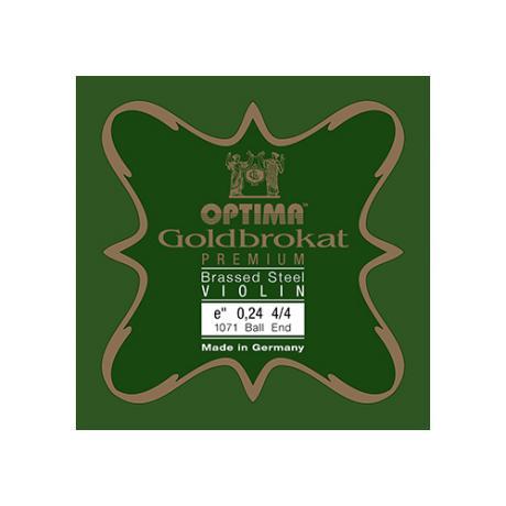 OPTIMA Goldbrokat Premium Brassed violin string E