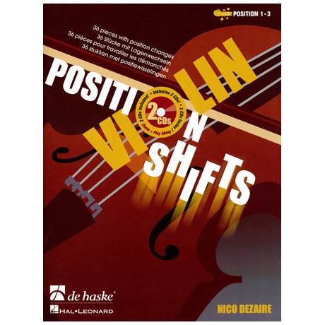 Dezaire, N.: Violin Position Shifts (+2 CDs)