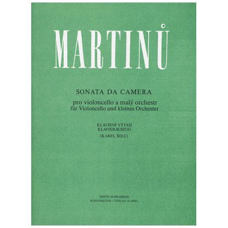 Martinu, B.: Sonata da camera
